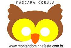 Montando minha festa: Máscara coruja grátis para imprimir