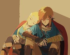The last reproduction in vectorial from The Legend Of Zelda: Breath of the Wild (BOTW). The Legend Of Zelda, Legend Of Zelda Breath, Ben Drowned, Botw Zelda, Link Zelda, Image Manga, Breath Of The Wild, Video Game Art, Cute Anime Couples