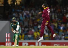 West Indies Vs South Africa : Sunil Narine after took a wicket #WI #SA #WIvSA #SAvWI