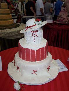 Mary Poppins Cake, Tulsa Cake Show by Ally Cake Designs, via Flickr