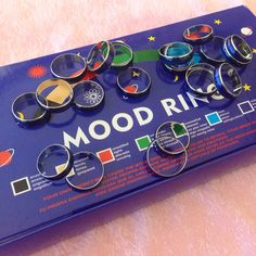 These mood rings: | 31 Products That Will Transport You Back To The '90s