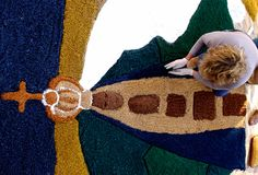 Tradicionais tapetes vão colorir o feriado de Corpus Christi-Ricardo Wolffenbüttel