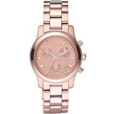 219€ από 251€ (Έκπτωση 13%) για ένα γυναικείο ρολόι Michael Kors από επιχρυσωμένο ανοξείδωτο ατσάλι,ρόζ-χρυσό καντράν με ρόζ -χρυσούς δείκτες και μπρασελέ απο επιχρυσωμένο ανοξείδωτο ατσάλι. Λειτουργία Χρονογράφου. Ένδειξη Ημερομηνίας και 24ώρου.