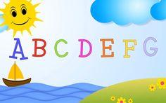 ABC SONG für Kinder und Kleinkinder. Kinderlieder zum mitsingen und lern... Das Abc, Learn German, Alphabet, Learning, Youtube, Nursery Songs, Deutsch, Toddlers, Letters