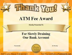 25 Best Funny Certificates Images Award Certificates Funny