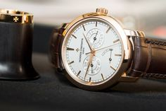 A Different Dress Watch: Vacheron Constantin Traditionelle Day Date and Power Reserve Custom Boots, Vacheron Constantin, Custom Design Shoes, Swiss Made Watches, Different Dresses, Custom Dresses, Leather Accessories, Michael Kors Watch, Casual Shoes