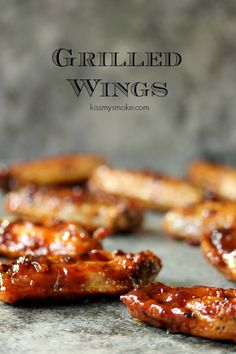 Simple Grilled Chicken Wings