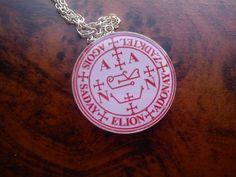 Archangel Zadkiel Seal Pendant Angel of mercyViolet by truewishes, $22.22
