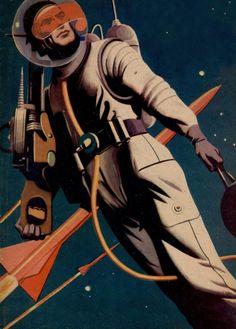 soldat de l'espace