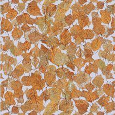 "Zoë Design Day 10 ~ WALLPAPER-A-DAY ""Fall Leaves"" #Wallpaper #WallCoverings #InteriorDesign"