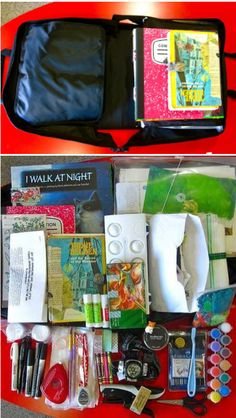 'Traveling Journal Kit...!' (via Inspiration Everywhere)