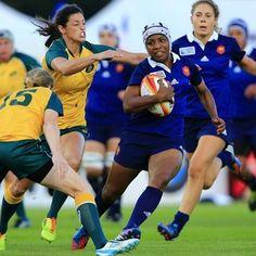 Le rugby féminin conquiert le public - Entrée en Lice - 11/08/2014