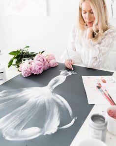 Posts you've Liked Megan Hess, Kerrie Hess, Bridal Dresses, Flower Girl Dresses, Hello July, Fashion Portfolio, Bridal Portraits, Custom Art, Fashion Art