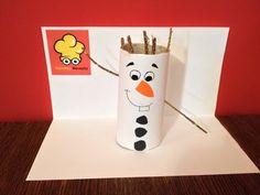 Vyrábíme - Olaf (Ledové království) - YouTube Olaf, Snowman, Disney Characters, Fictional Characters, Frozen, Youtube, Art, Art Background, Kunst