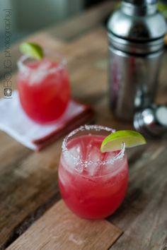 Sugar Free Watermelon Margaritas from www.EverydayMaven.com
