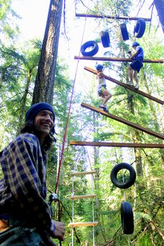 Evergreen State College Challenge Course - I highly recommend it!!!