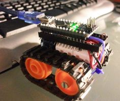Learn how to make an Arduino Nano microbot http://www.instructables.com/id/Arduino-Nano-based-Microbot