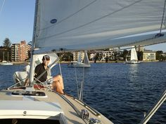 Teach Dad to sail for Day 17 of our 30 Days of Father's Day with a few lessons on the water in Manly!