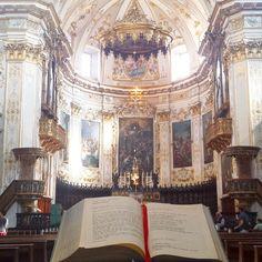 Bergame possède de nombreuses églises. Celle-ci est particulièrement jolie - Instagram by jepapote