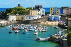 Tenby, Wales by curly42 on Flickr.