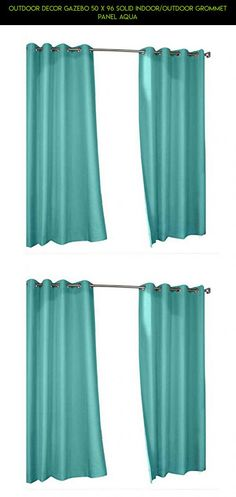 Outdoor Decor Gazebo 50 X 96 Solid Indoor/Outdoor Grommet Panel Aqua #fpv #indoor #shopping #outdoor #technology #decor #gadgets #tech #50 #racing #drone #panel #by #camera #gazebo #kit #natural #outdoor #window #parts #96 #products #plans
