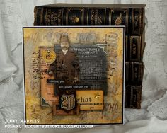 Pushing The Right Buttons: It's All In The Chemistry... Tim Holtz Tag August ...