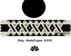 Peyote ring patternPDF-Download 034R beaded ring pattern