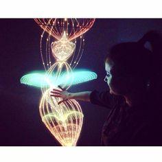 Instagram heykatedo Interstellar #moscow #russia #exhibition #lifezone #vsco #vscocam #vscogood #light #art