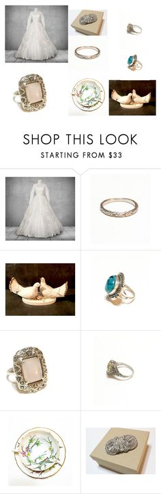 """Wedding Days, Something Borrowed, Something Blue"" by ourboudoirkate ❤ liked on Polyvore"