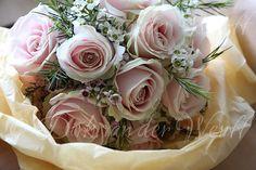 SARAH'S WEDDING BOUQUET DETAIL FROM CRATHORNE HALL