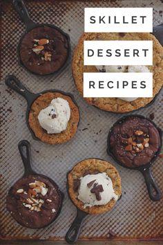 3 Skillet Dessert Recipes | The Inspired Home