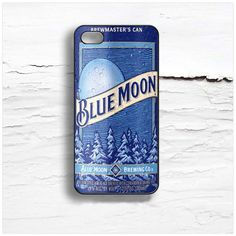 Blue Moon Beer Design Cases iPhone, iPod, Samsung Galaxy