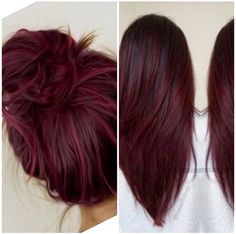 Haarfarbe rot Haarfarbe Hair Removal By Waxing Article Body: The dictionary defines waxing as: 'a te Hair Color And Cut, Cool Hair Color, Fall Hair Colour, Deep Red Hair Color, Fall Hair Color For Brunettes, Pelo Color Vino, Wine Hair, Curly Hair Styles, Natural Hair Styles