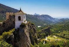 Place: Castillo de Guadalest, Benidorm (inland) / Comunidad Valenciana, Spain. Photo by: Stephen (flickr) Spain, Museum, Beautiful, Community, Castles, Museums