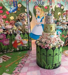 Alice In Wonderland Sign, Alice In Wonderland Aesthetic, Alice In Wonderland Tea Party Birthday, Alice In Wonderland Decorations, Half Birthday Baby, 9th Birthday Parties, Party Themes, Alice Olivia, Angeles