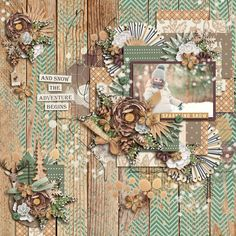 Layout using {Winter Woodland} Digital Scrapbook Kit by WendyP Designs available at Sweet Shoppe Designs http://www.sweetshoppedesigns.com/sweetshoppe/product.php?productid=35498&cat=876&page=3 #wendypdesigns