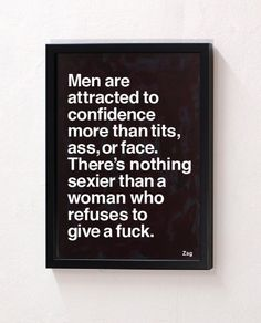 women who dont give a fuck