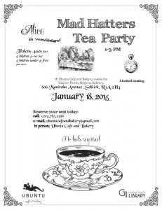 Invite to Mad Hatter's Tea Marty