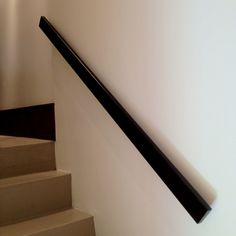 white grab rail, set close to the wall instead of hand rail?  we need something for the two sets of stairs!