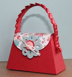 Just Julie B's Stampin' Space: Pretty Little Petite Purses!