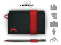 The CRABBY Wallet: A wallet that is not for everyone... by Ryan Crabtree, via Kickstarter.