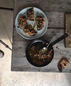 Gill Meller plates Golden Biscotti