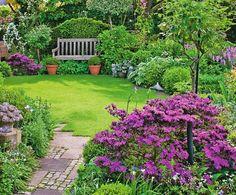 Idee giardino fai da te arredamento con mobili in ferro for Piccoli giardini fioriti