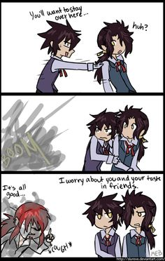 A kind of continuation of the other comic, the idea brought up by How awful would that be for a kid, having nightmares about marrying the Millennium Earl? Mana finds it kinda annoying. Me Me Me Anime, Anime Guys, D Gray Man Allen, Allen Walker, You Are Cute, Cutest Thing Ever, Manga Games, Light Novel, Dark Fantasy