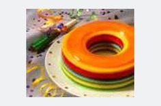 Rainbow Ribbon Mold recipe