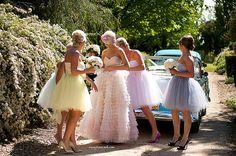 Sweetheart robe  parole longueur volants jupe avec des par ouma, $1480.00