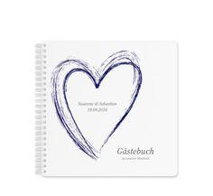 """Gästebuch Hochzeit """"Toulon"""""""