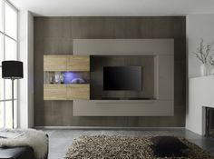 LC Mobili Modern Wall Unit Line 2 - $2,069.00