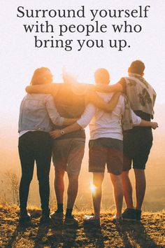 Surround yourself with people who bring you up. #friends #truefriends #lifequotes #motivationalquotes #motivation #familyquotes #inspiration #love via @tlcforcoaches Adventure With Friends Quotes, Travel With Friends Quotes, Adventure Quotes, Travel Quotes, Friend Travel, Inspirational Quotes About Friendship, Friendship Quotes, Wanderlust Travel, Instagram Captions Travel
