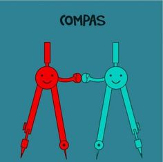 Compas (en espanol) I laughed entirely way too much at this. Cracked me up.